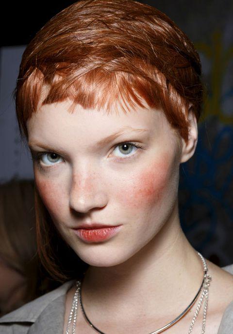 Mouth, Lip, Cheek, Hairstyle, Skin, Chin, Forehead, Eyebrow, Eyelash, Jewellery,