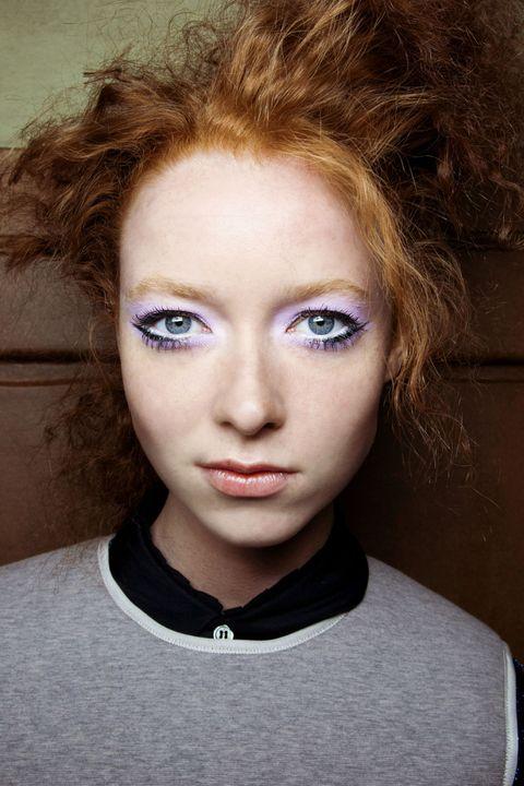 Lip, Cheek, Eye, Hairstyle, Chin, Forehead, Eyebrow, Eyelash, Style, Iris,