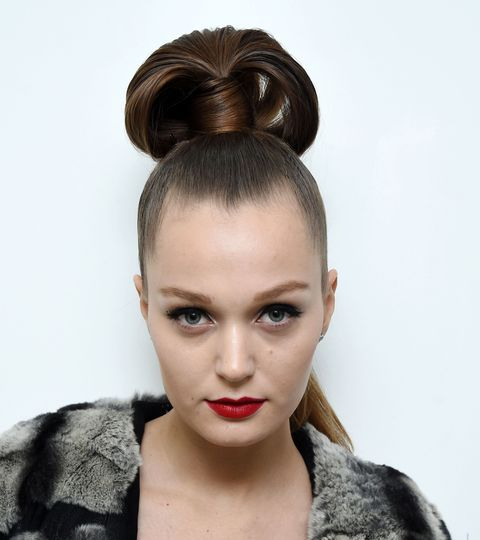 Hair, Ear, Lip, Hairstyle, Forehead, Eyebrow, Eyelash, Style, Beauty, Fashion,