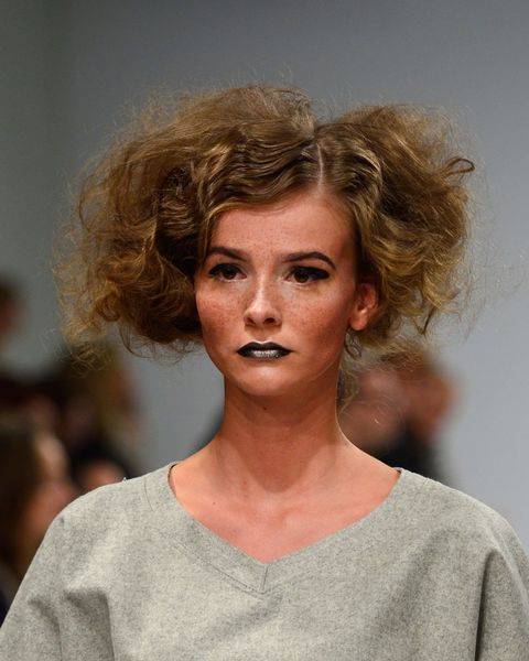 Lip, Mouth, Hairstyle, Chin, Shoulder, Eyelash, Style, Jaw, Fashion, Neck,