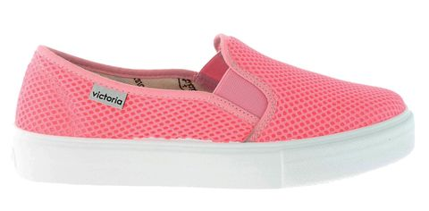 Sneakers slip on in rete profumata
