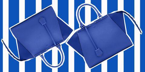 31648312c9 Shopping in blu: le borse a mano dell'estate 2015 guardano il mare