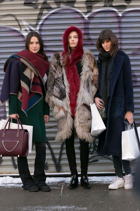 Clothing, Footwear, Leg, Human, Winter, Trousers, Coat, Textile, Outerwear, Bag,