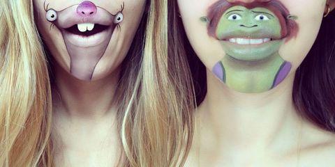 Il divertentissimo make up cartoon della beauty blogger laura