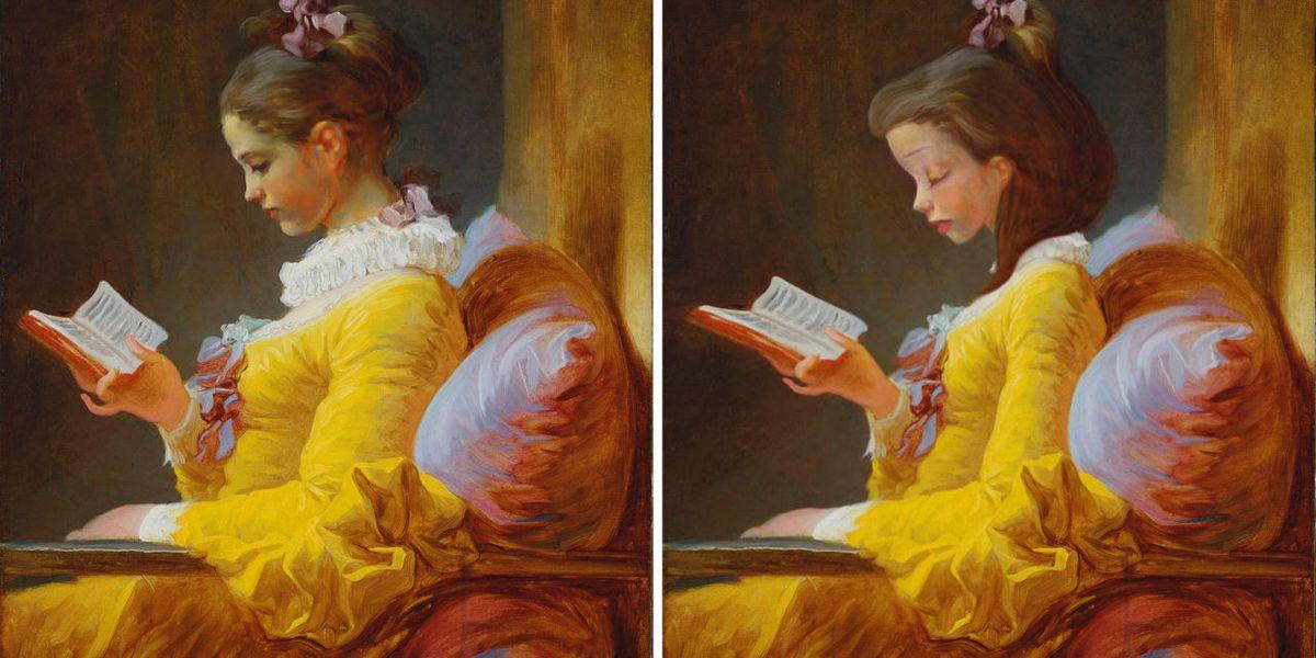 Un'artista francese ha rifatto i grandi quadri con le principesse Disney e gli attori di Hollywood