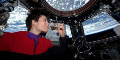 Samantha Cristoforetti nello spazio
