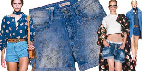 Clothing, Eyewear, Blue, Leg, Denim, Textile, Jeans, Style, Pocket, jean short,