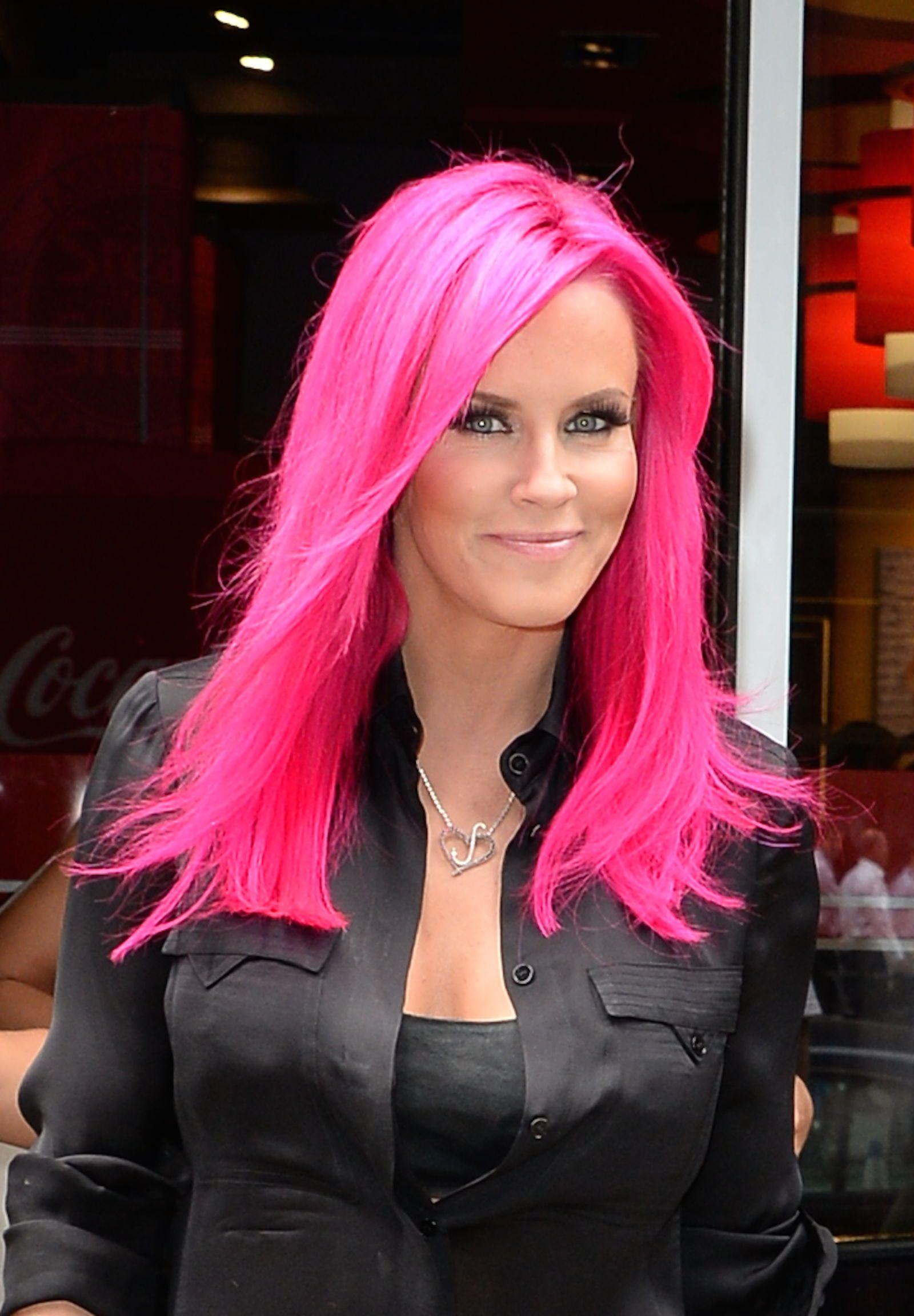 Foto capelli colorati strani