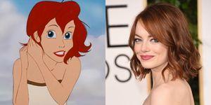 Ariel e Emma Stone