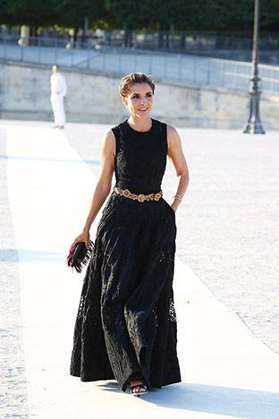 PARIS, FRANCE - JULY 09:  Actress Clotilde Courau is seen in Le Jardin des Tuileries on July 9, 2015 in Paris, France.  (Photo by Laurent Viteur/GC Images)