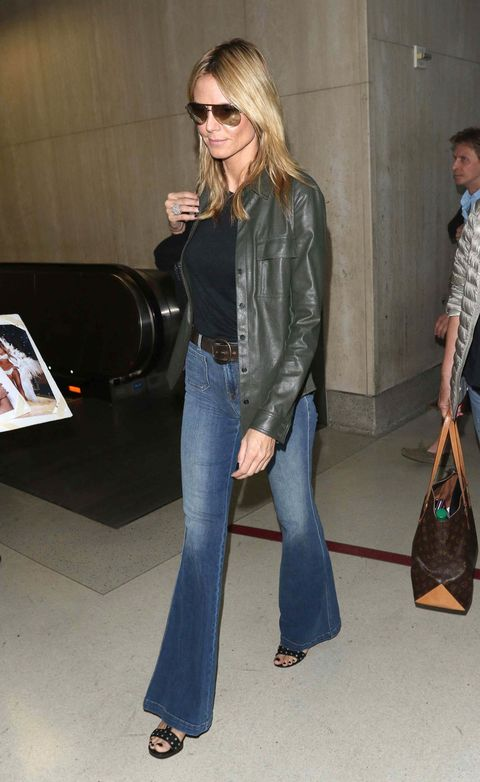 LOS ANGELES, CA - MAY 25:  Heidi Klum is seen on May 25, 2015 in Los Angeles, California.  (Photo by JMA/Star Max/GC Images)