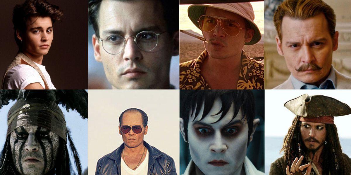 Johnny Depp in 46 scene tratte dai suoi film