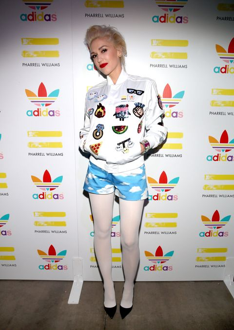 LOS ANGELES, CA - DECEMBER 03:  Singer Gwen Stefani attends the collaboration celebration of Pharrell Williams and Adidas at Hinoki & The Bird on December 3, 2014 in Los Angeles, California.  (Photo by Christopher Polk/Getty Images for Adidas)