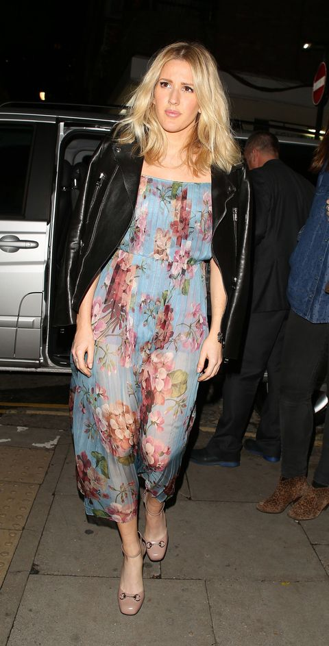 LONDON, ENGLAND - OCTOBER 07:  Ellie Goulding at the Ellie Goulding 'Bring Colour Back' campaign launch on October 7, 2015 in London, England.  (Photo by Mark Robert Milan/GC Images)