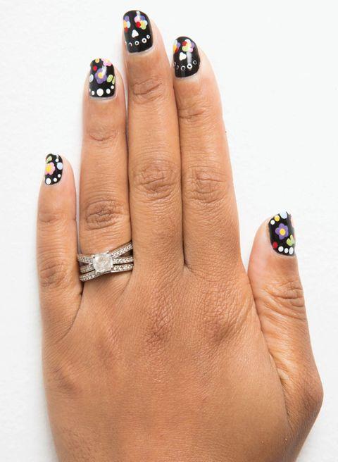 unghie nail art halloween 1
