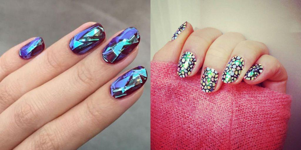 Conosciuto Unghie di vetro: la nail art che ricrea l'effetto delle schegge di  OQ38