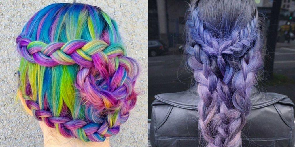 I capelli arcobaleno: scopri le ciocche di mille colori