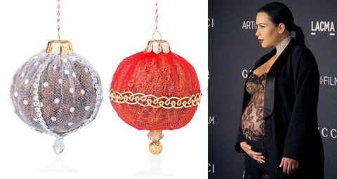 Palline di Natale ripiene di essenze naturali profumate, <strong>Rossocuore</strong>
