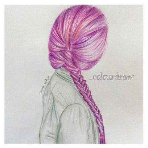 #Hairdraw su Instagram: disegni che ispirano acconciature ...