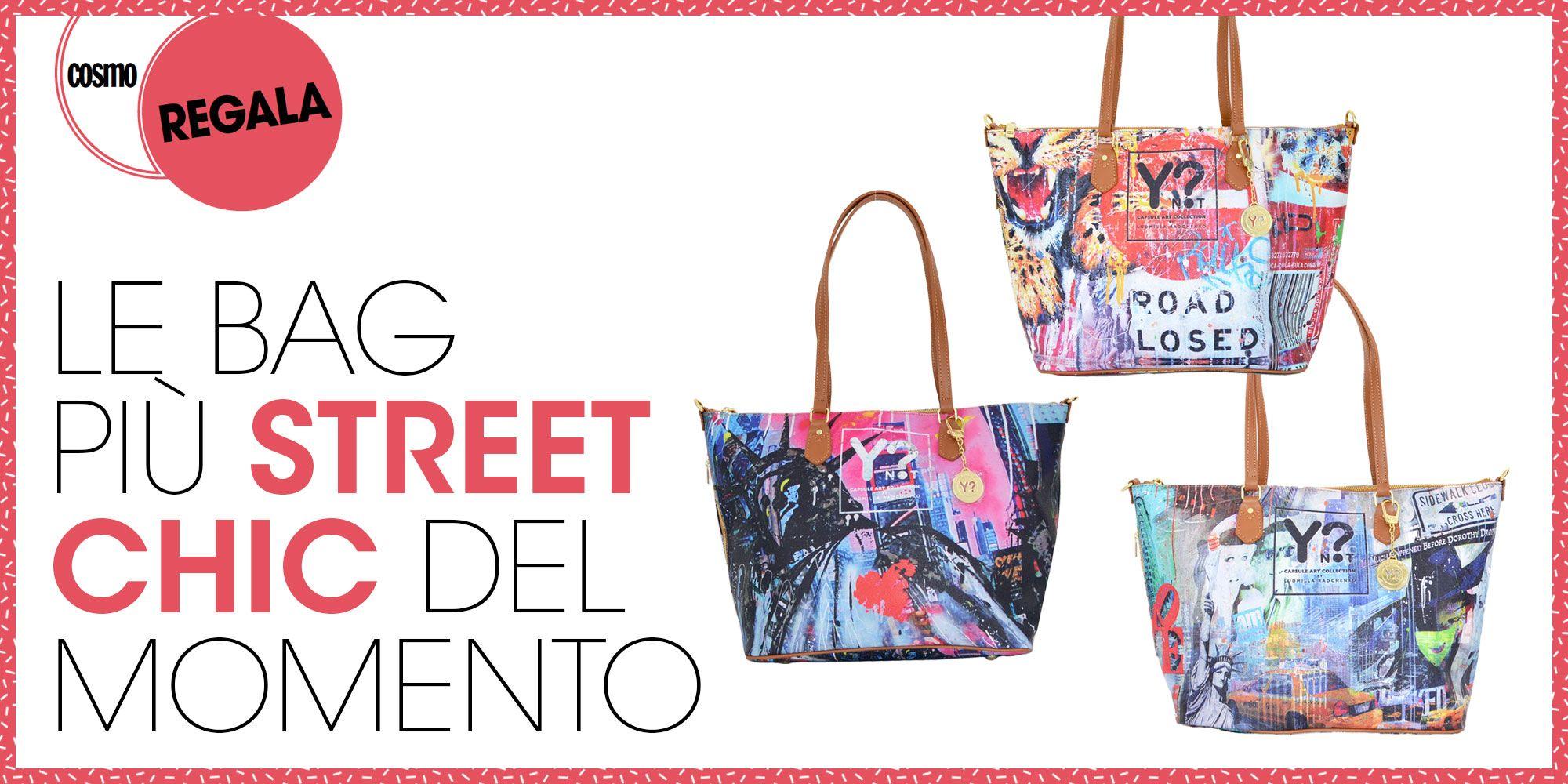 Cosmo regala Le bag più street chic del momento