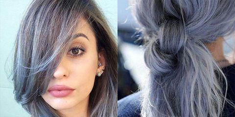Bluegrayhair Il Trend Di Instagram Per Capelli Da Regina Delle Nevi