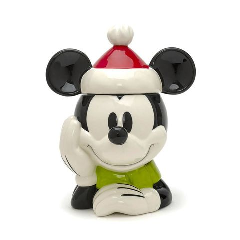 Biscottiera in ceramica Mickey Mouse in versione natalizia,<strong> Disney Store</strong>