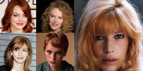 new product 8e081 7229e 10 attrici del cinema con i capelli rossi