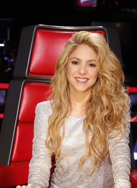 THE VOICE -- &quot&#x3B;Live Show&quot&#x3B; Episode 621A -- Pictured: Shakira -- (Photo by: Trae Patton/NBC/NBCU Photo Bank)