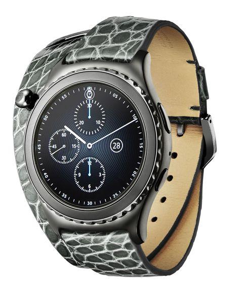 Per le tecno-chic, <strong>Samsung Gear S2 Colombo via della Spiga Limited Edition</strong>