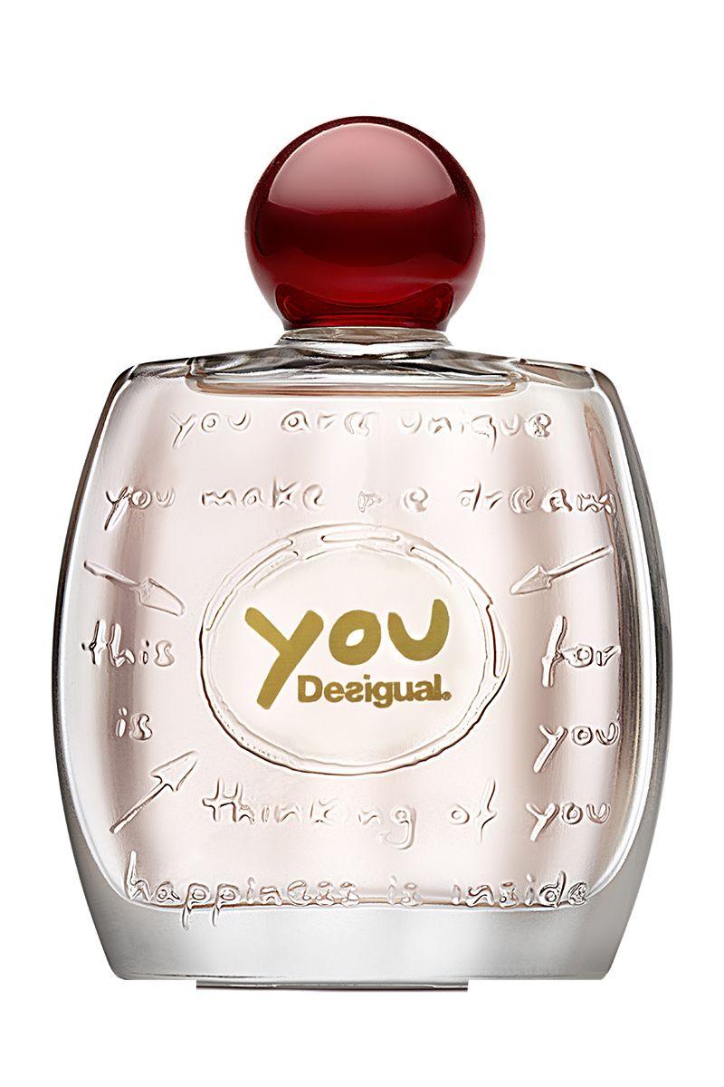 <em>You,</em> <strong>Desigual</strong> (100 ml, € 59).