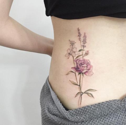 tatuaggi rose instagram 1
