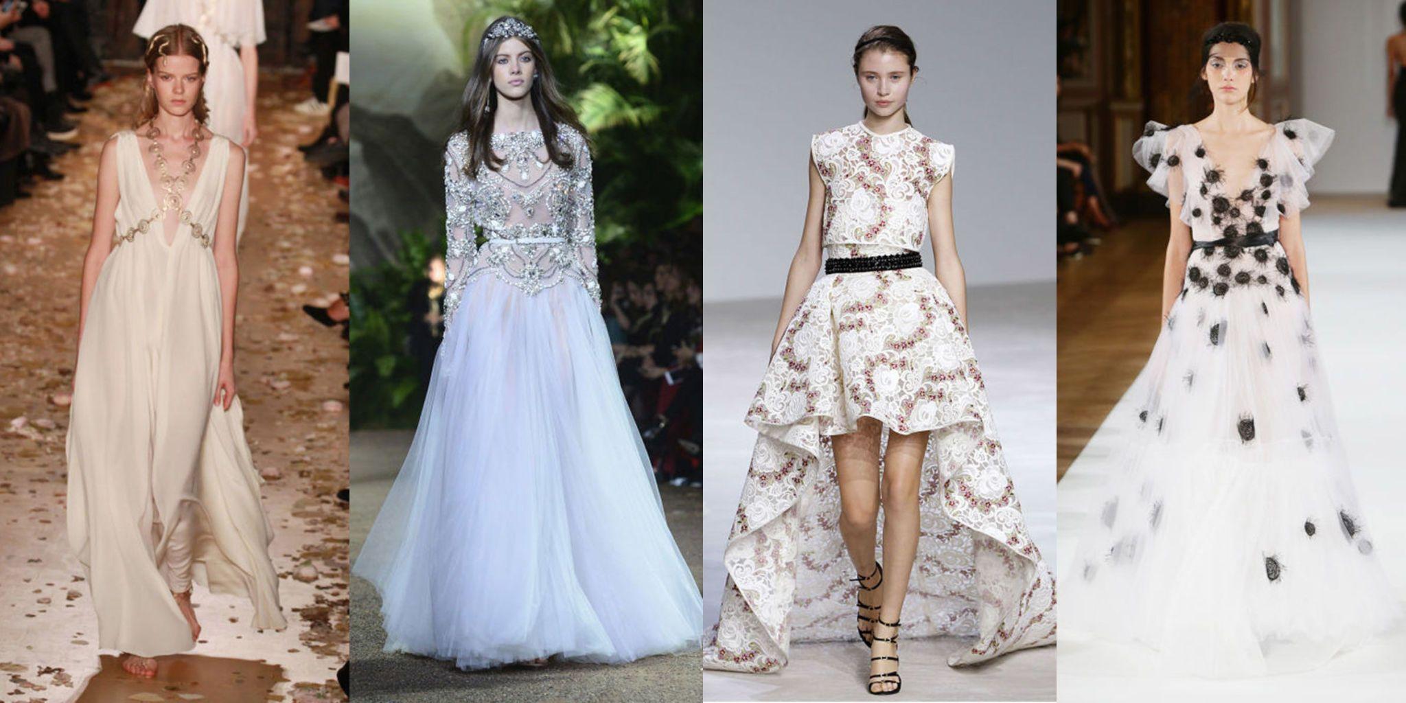 Conosciuto Abiti da sposa dalle sfilate dell'alta moda di Parigi EI12