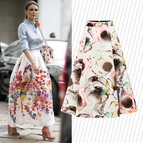 the latest b56d1 03446 20 dritte per indossare la gonna lunga di giorno (senza ...