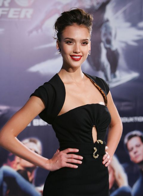 BERLIN - JULY 20:  Actress Jessica Alba attends the  'Fantastic Four - Rise Of The Silver Surfer' premiere on July 20, 2007 in Berlin, Germany.  (Photo by Andreas Rentz/Getty Images) *** Local Caption *** Jessica Alba