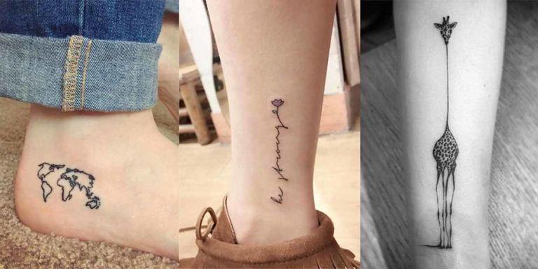 Tattoo da caviglia: 45 ispirazioni che ti fanno abbassare ...