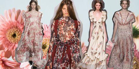 buy popular a07ba 965e6 18 modelli di abiti lunghi a fiori che amerai, perché non si ...