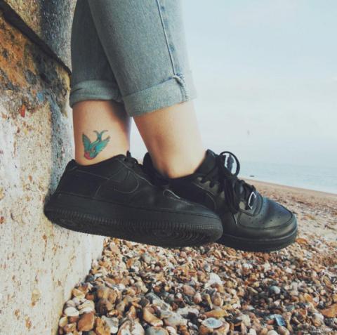 la moda più votata selezione migliore godere del prezzo di liquidazione Tattoo da caviglia: 45 ispirazioni che ti fanno abbassare ...