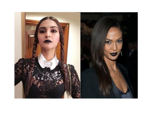 <p>Le labbra nere non sono solo le preferite per chi ama uno stile da dark lady. Puoi scegliere questa tonalità e mantenere leggero il resto del make-up.</p>