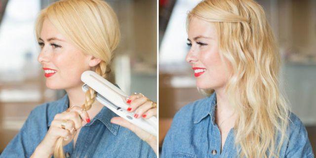 Come asciugare capelli lisci scalati