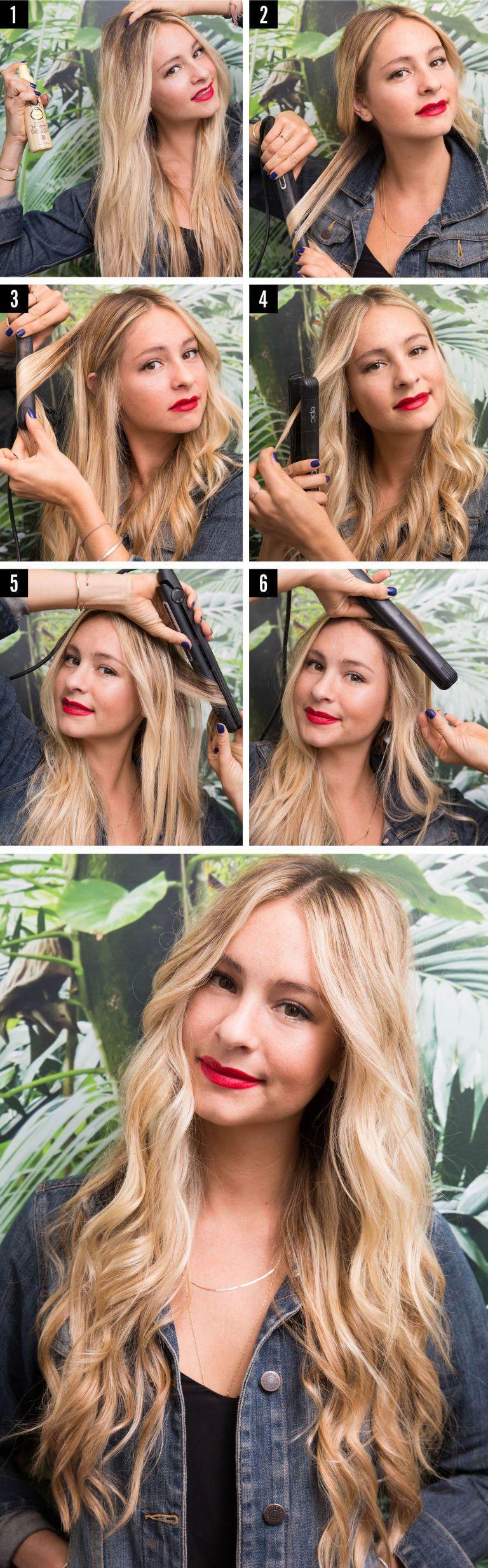 Come fare le onde capelli medi