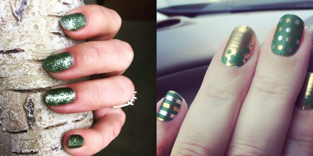 La nail art di San Patrizio ti porta fortuna 24 ispirazioni in verde e con  i quadrifogli