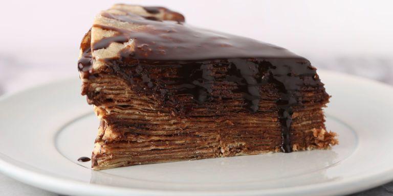 La ricetta della torta di crêpe più facile e furba del mondo