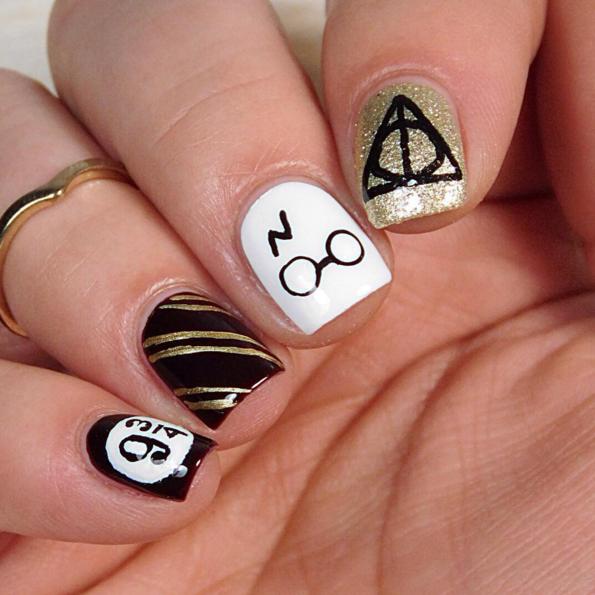 Harry Potter nail art 21 ispirazioni da cui devi prendere spunto se sei  una vera fan