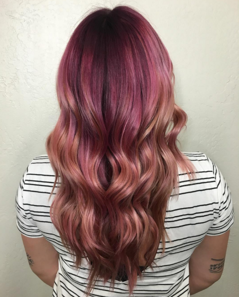rose gold hair capelli colore tendenza instagram 1