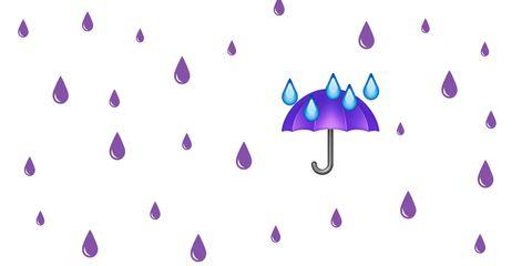 Il filtri di Snapchat e gli emoji di Purple Rain