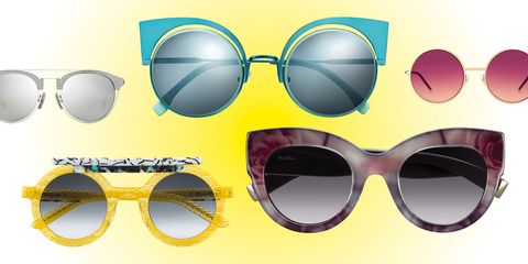 Eyewear, Vision care, Yellow, Pattern, Personal protective equipment, Colorfulness, Eye glass accessory, Circle, Material property, Design,