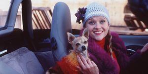 Reese Witherspoon in una scena del film La rivincita delle bionde