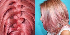 flamingo hair capelli rosa fenicottero