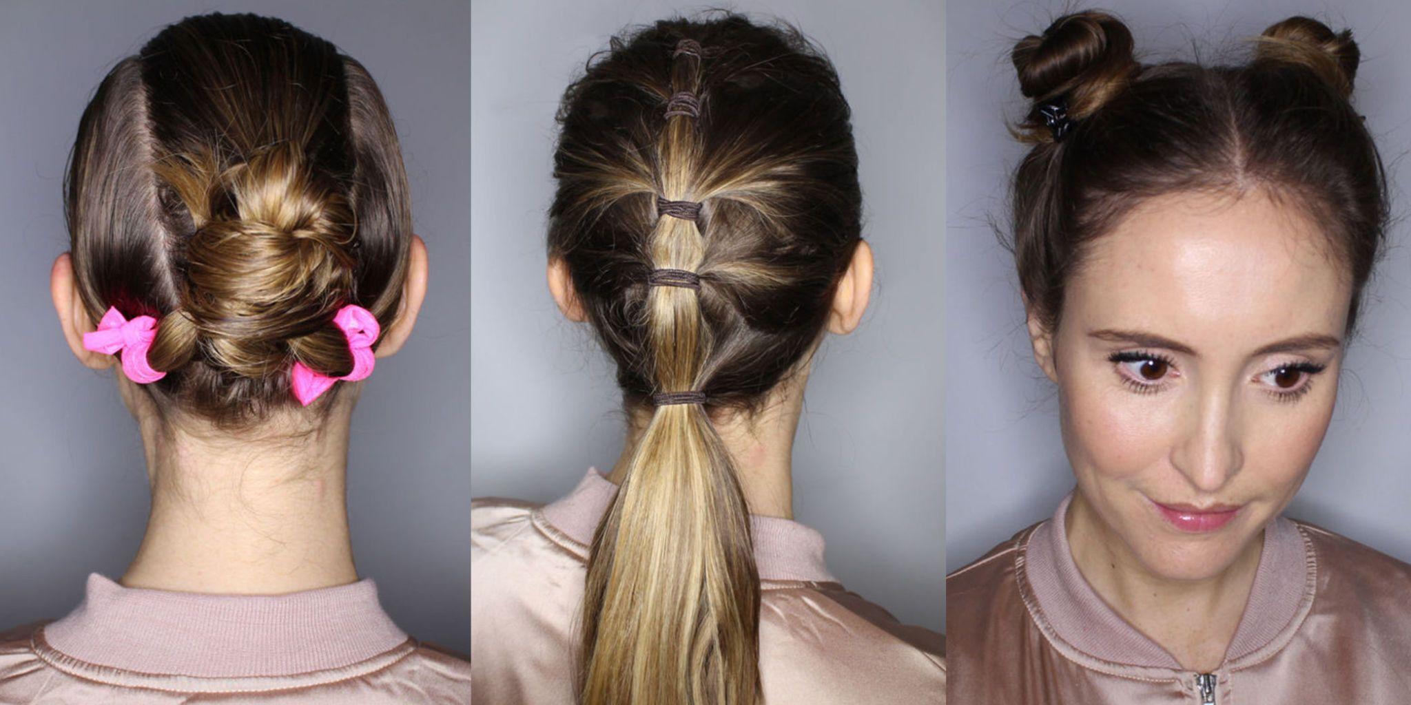 Popolare Tutorial capelli: 5 acconciature veloci per quando fai sport KI46