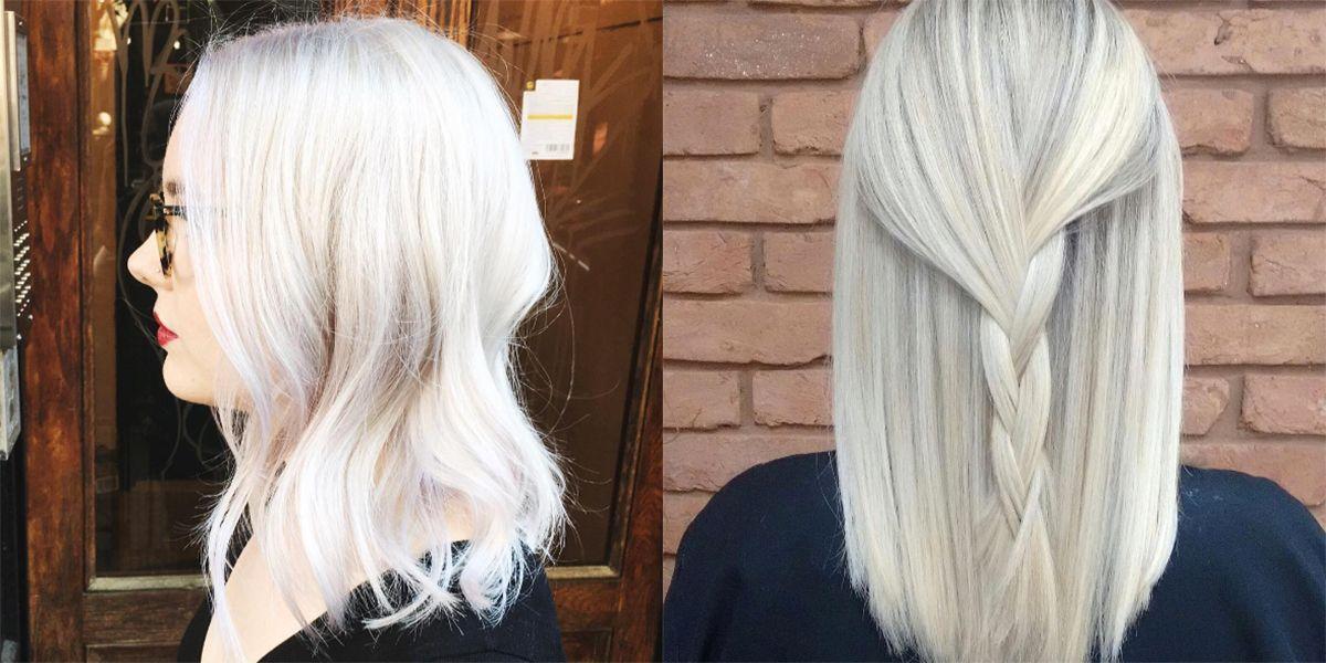 White Blonde Hair  la nuova tendenza per capelli biondo platino quasi  bianchi 3583b832ff84